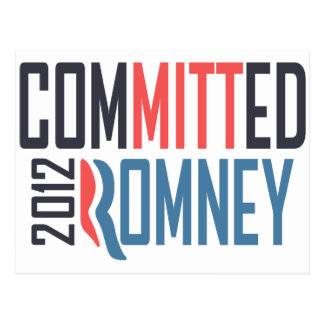 Committed Romney Postcard