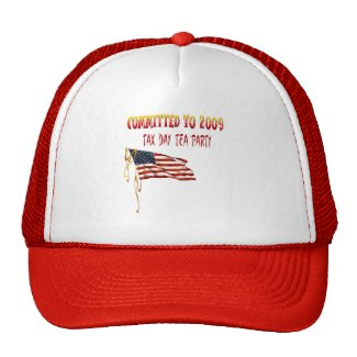 Committed To 2009 Tea Party Hat hat