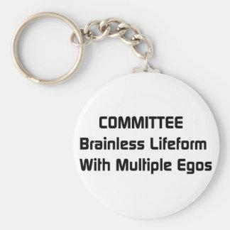 Committee Humor Keychain