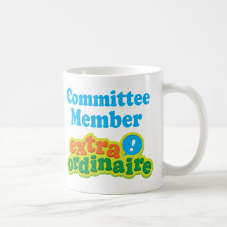 Committee Member Extraordinaire Gift Idea Coffee Mug