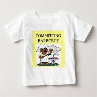 committing barbecue joke baby T-Shirt