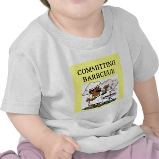 committing barbecue joke t-shirt