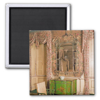 Commode and chair in the state bedchamber 2 inch square magnet