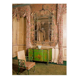 Commode and chair in the state bedchamber postcards