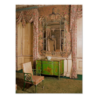 Commode and chair in the state bedchamber poster