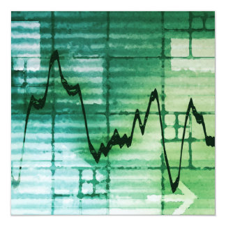 Commodities Trading and Price Analysis News Art Card
