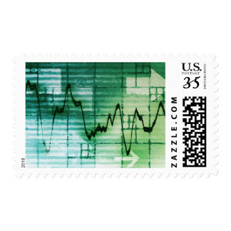 Commodities Trading and Price Analysis News Art Postage