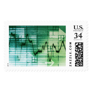 Commodities Trading and Price Analysis News Art Postage Stamp