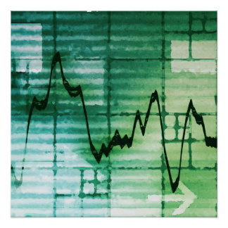 Commodities Trading and Price Analysis News Art Poster