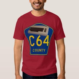 Commodore 64 C64 County T-Shirt