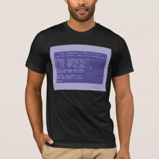 Commodore 64 CBM64 geeky Dad New York City T-shirt