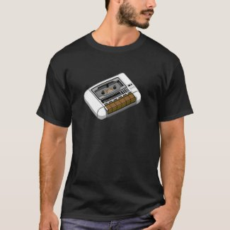Commodore 64 Datasette Tape Loader T-shirt