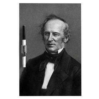 Commodore Cornelius Vanderbilt Portrait circa 1850 Dry Erase White Board