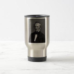 Commodore Cornelius Vanderbilt Portrait circa 1850 Travel Mug
