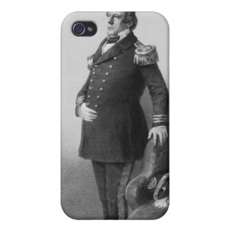 Commodore Mhew Calbraith Perry iPhone 4 Cover