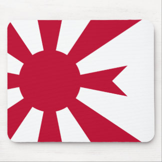Commodore Of Imperial Japanese Navy, Japan Mouse Pad
