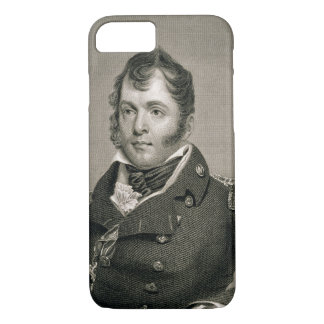Commodore Oliver Hazard Perry (1785-1819), engrave iPhone 8/7 Case