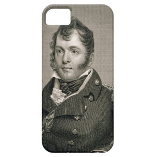 Commodore Oliver Hazard Perry (1785-1819), engrave iPhone SE/5/5s Case