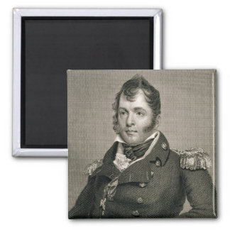 Commodore Oliver Hazard Perry (1785-1819), engrave Fridge Magnet
