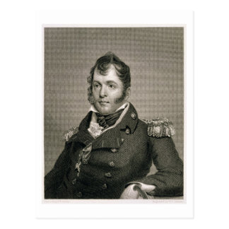 Commodore Oliver Hazard Perry (1785-1819), engrave Postcard