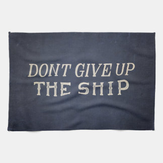 Commodore Perry Dont Give Up The Ship Towels