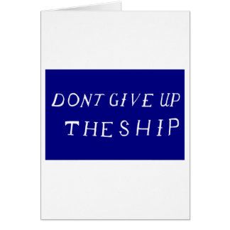 Commodore Perry s Flag Greeting Cards