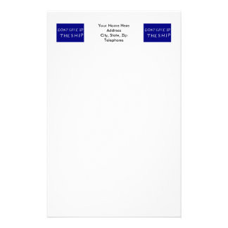 Commodore Perry s Flag Stationery