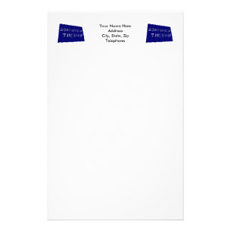 Commodore Perry s Waving Flag Stationery Paper