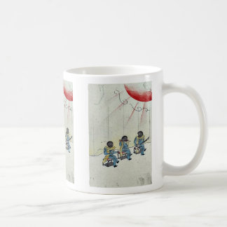 Commodore Perrys delegation Ukiyoe Coffee Mugs