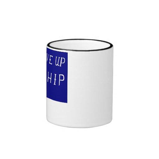 Commodore Perry's Flag Coffee Mugs