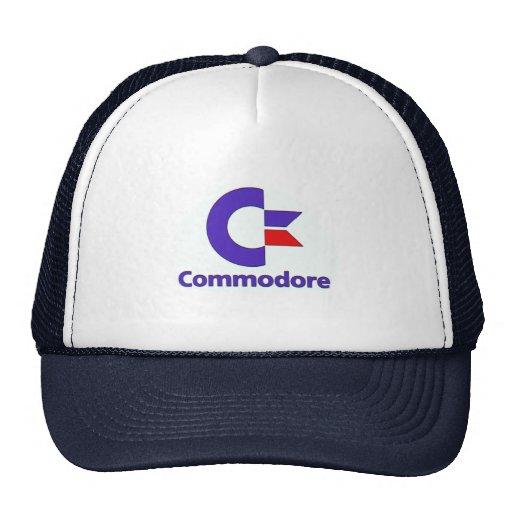commodore retro trucker hat gorra