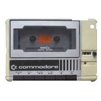 commodore tape player cover for the iPad mini