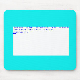 Commodore Vic20 Startup Screen Mouse Pad