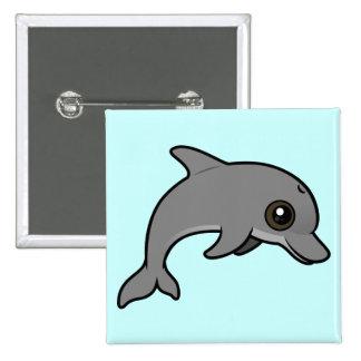 Common Bottlenose Dolphin Button