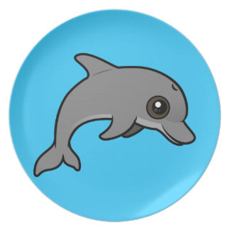 Common Bottlenose Dolphin Plate
