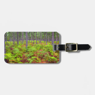 Common Bracken (Pteridium Aquilinum) Growing Luggage Tag