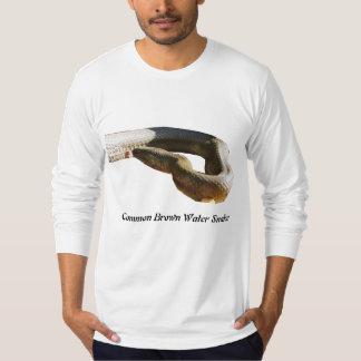 Common Brown Water Snake American Apparel Long T-Shirt