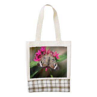 Common Buckeye Junonia Coenia Zazzle HEART Tote Bag