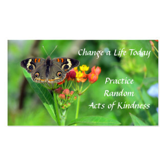 Common Buckeye Random Acts of Kindness Cards