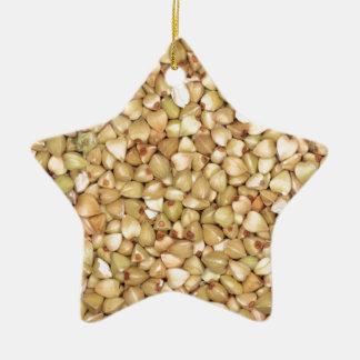 Common Buckwheat Ceramic Ornament