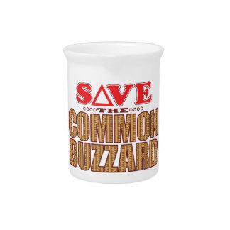 Common Buzzard Save Beverage Pitcher