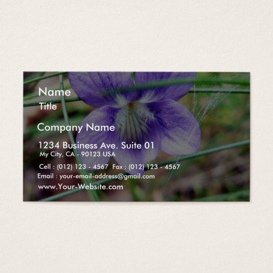 Common Dog Violet Business Card