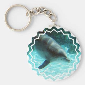 Common Dolphin Keychain