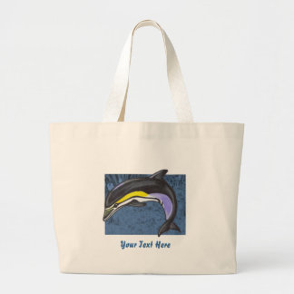 Common Dolphin Tote Bag