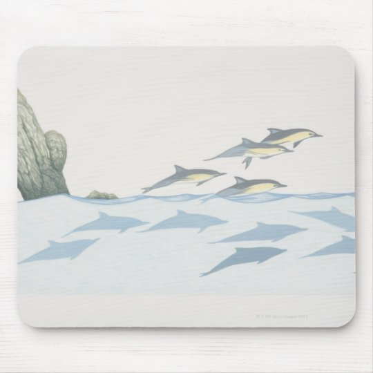 Common Dolphins Mouse Pad