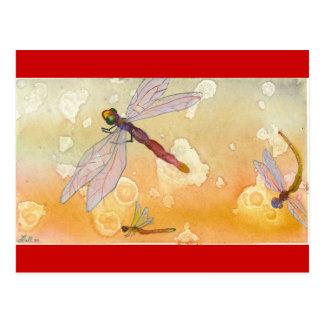 """Common Dragons"" Postcard"
