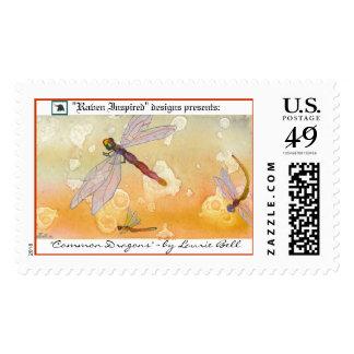 """Common Dragons"" stamp"