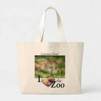 Common Eland Large Tote Bag