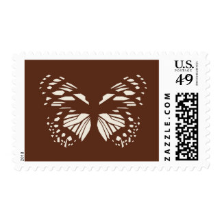 Common Forest Queen Buterfly Postage