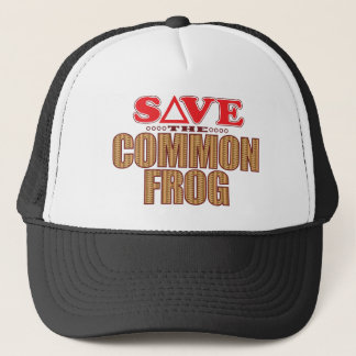 Common Frog Save Trucker Hat